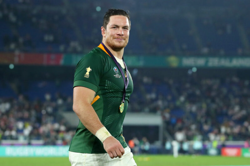 South Africa hero Francois Louw