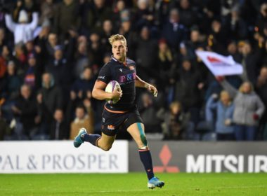 Duhan van der Merwe is Scotland eligible