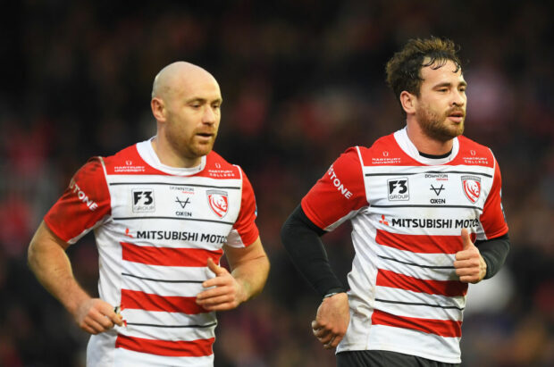 Willi Heinz and Danny Cipriani