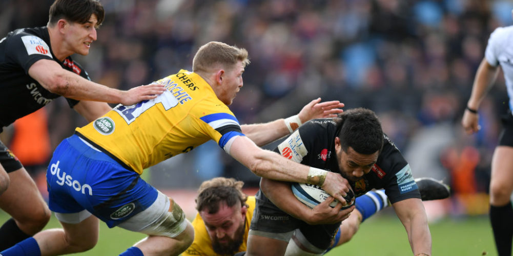 Exeter Chiefs would face a compact Premiership schedule