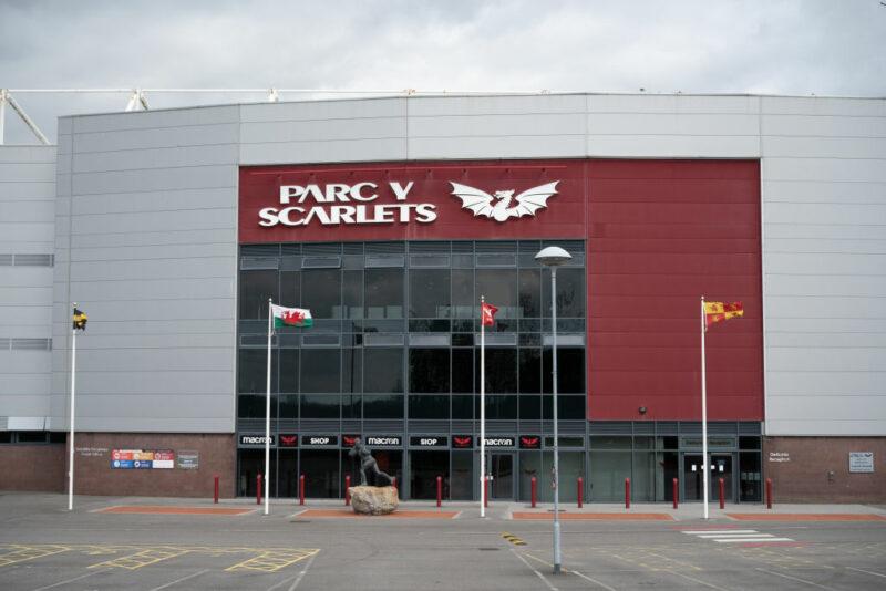 Scarlets home stadium Parc y Scarlets