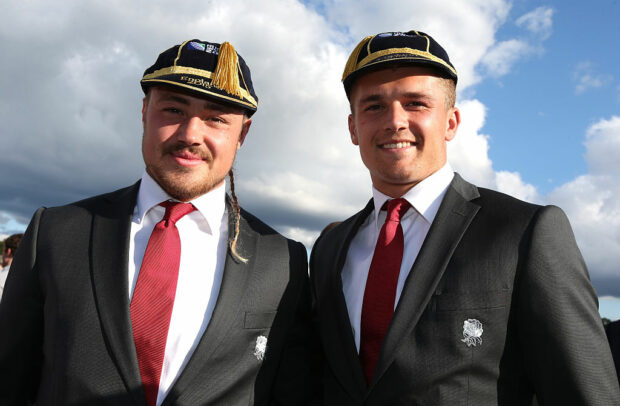 Jack Nowell and Henry Slade