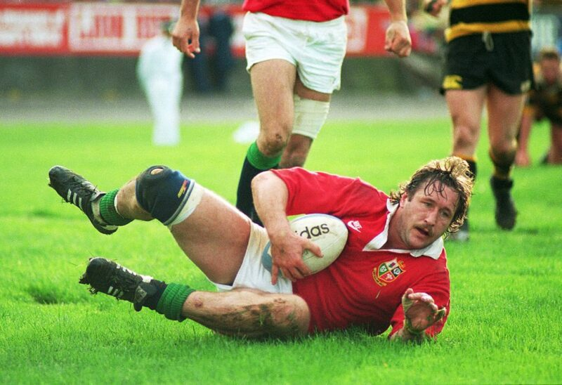 Gloucester legend Mike Teague