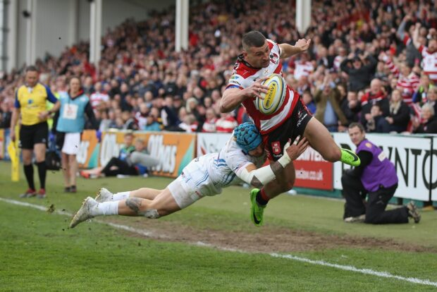 Gloucester wing Jonny May