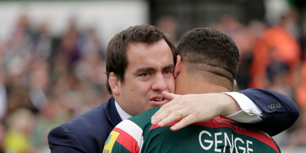 Leicester Tigers legend Marcos Ayerza