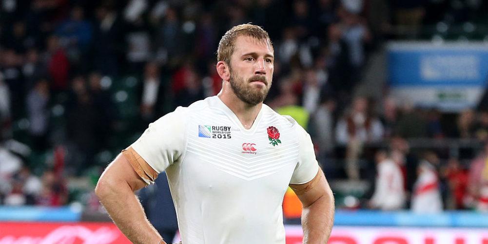 England flanker Chris Robshaw