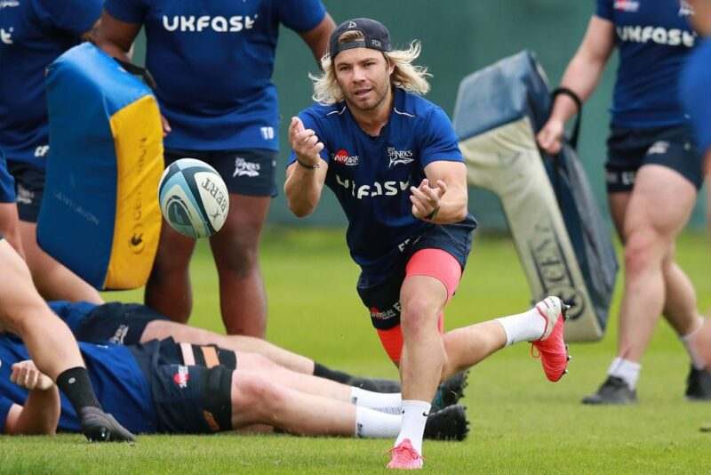 Sale Sharks scrum-half Faf de Klerk