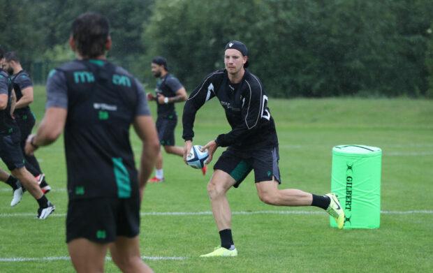 Northampton Saints full-back Harry Mallinder