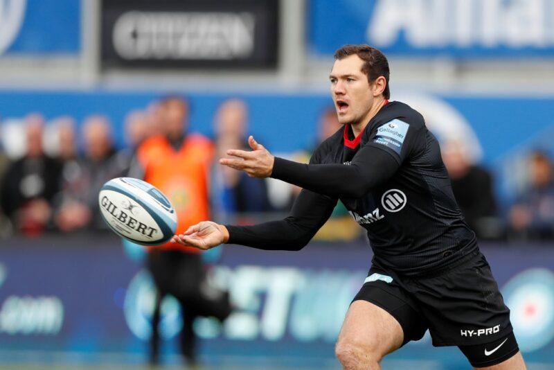 Saracens full-back Alex Goode