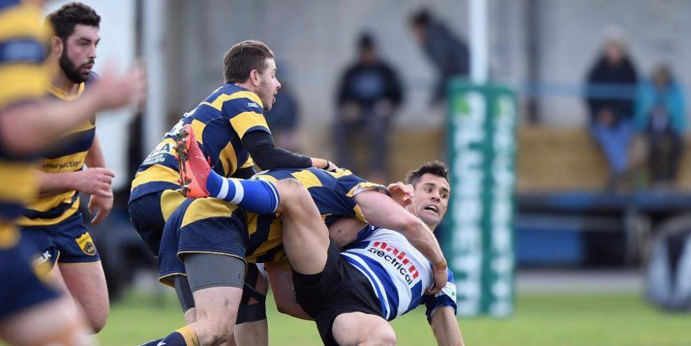 Dan Carter in action for Southbridge