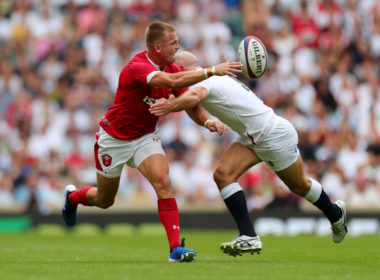 Wales fly-half Gareth Anscombe