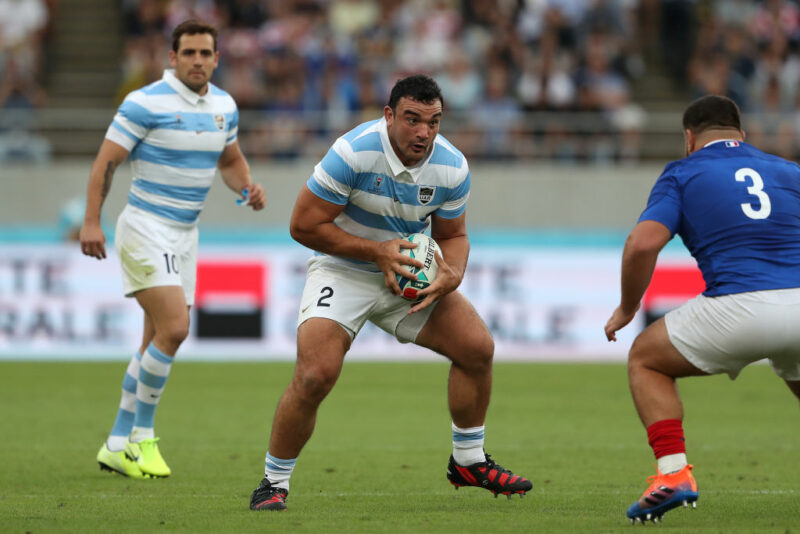 Argentina hooker Agustin Creevy