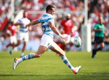 Argentina full-back Emiliano Boffelli