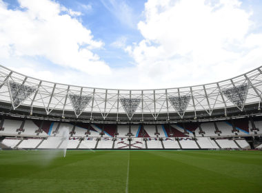 West Ham play at the Olympic Stadium