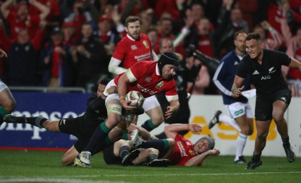 Lions flanker Sean O'Brien