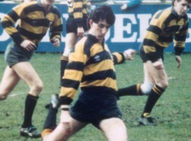 Orrell fly-half Gerry Ainscough