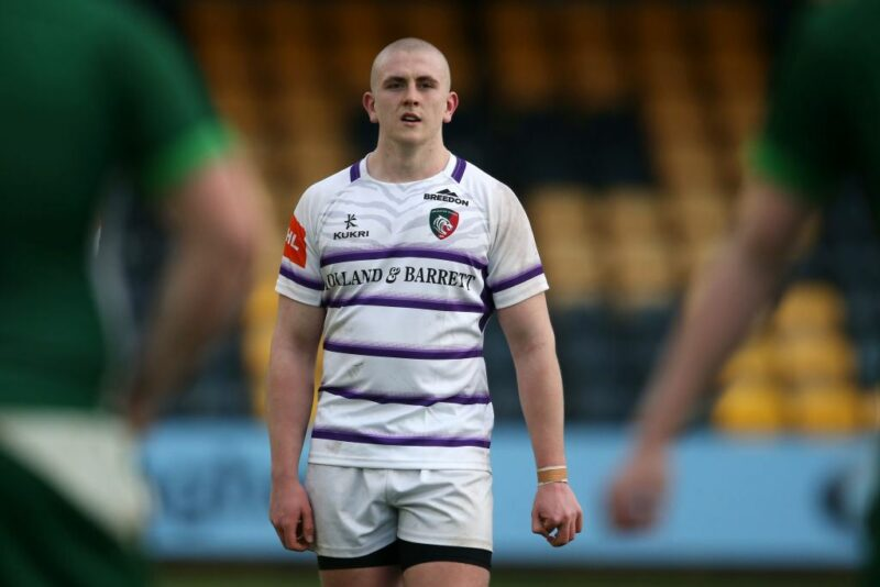 Leicester Tigers prop Jack Rowntree