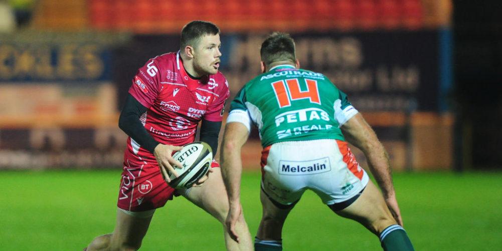 Scarlets wing Steff Evans