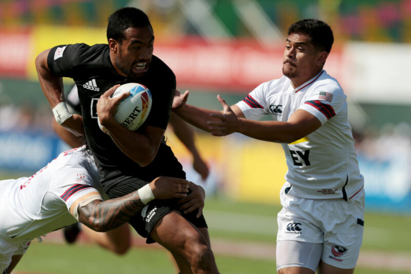 USA Men's 7s are coached by Mike Friday