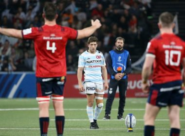 Champions Cup action between Racing 92 and Munster