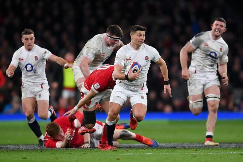 England scrum-half Ben Youngs