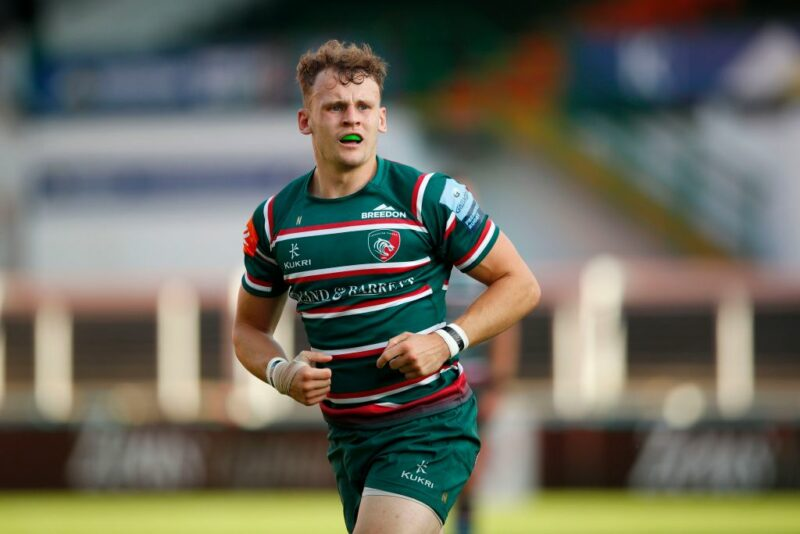 Leicester Tigers wing David Williams