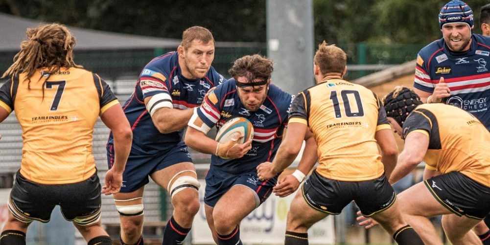 Doncaster Knights prop Robin Hislop