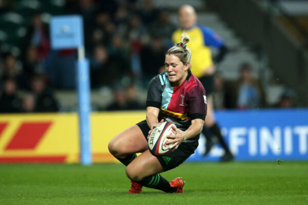 Harlequins centre Rachael Burford in awe of World Rugby women's chief Sadleir