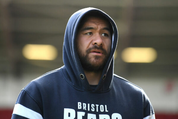 Steven Luatua a late withdrawal from Bristol squad