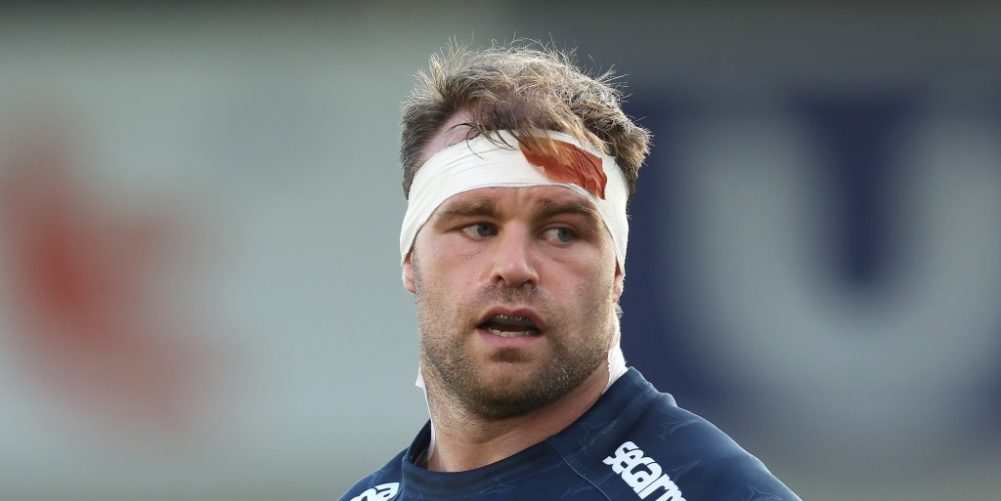 Sale Sharks and Wales prop WillGriff John