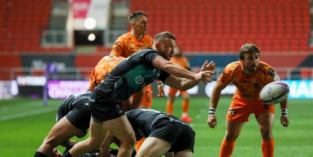 Bristol Bears scrum-half Andy Uren