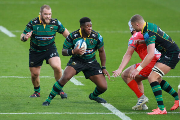 Northampton prop Manny Iyogun hungry for more after showing his mettle at Exeter