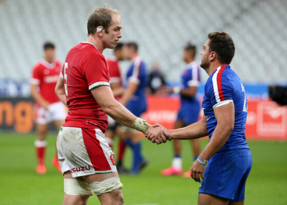 TEAMS: Alun Wyn Jones to surpass Richie McCaw as most-capped Test player