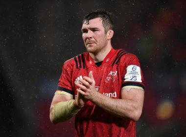 Munster captain Peter O'Mahony