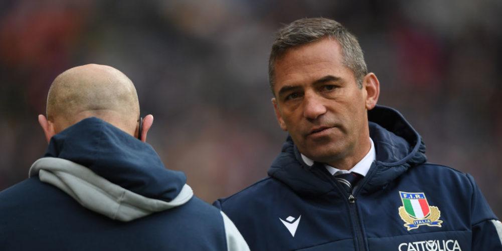 Italy head coach Franco Smith