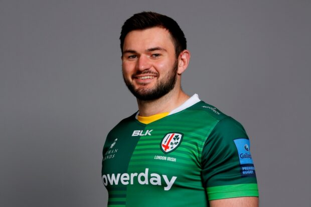 London Irish flanker Matt Rogerson