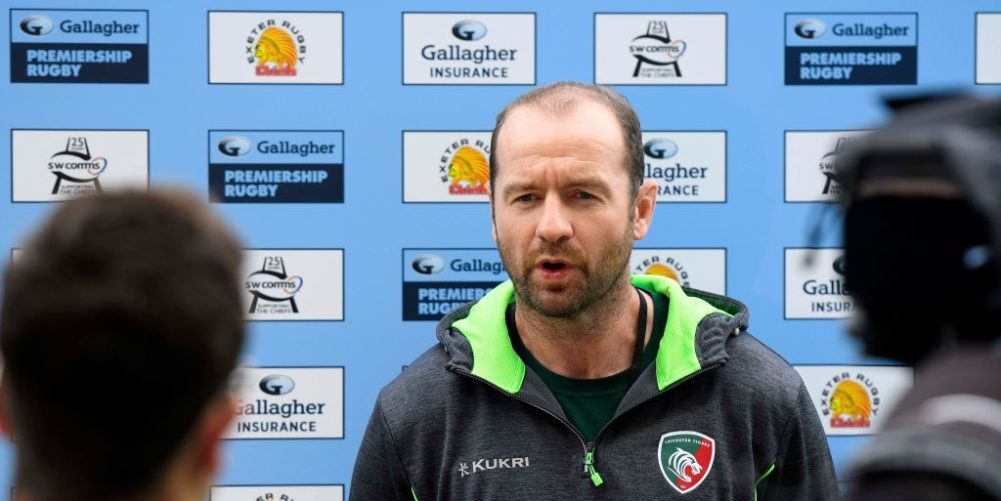 Geordan Murphy has left Leicester Tigers