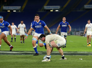 Italy have claimed the Six Nations wooden spoon