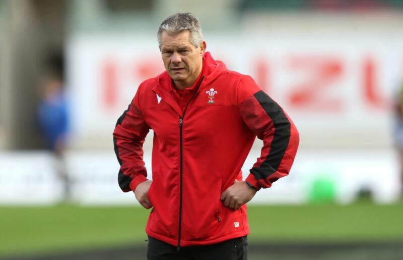 Wales defence coach Byron Hayward