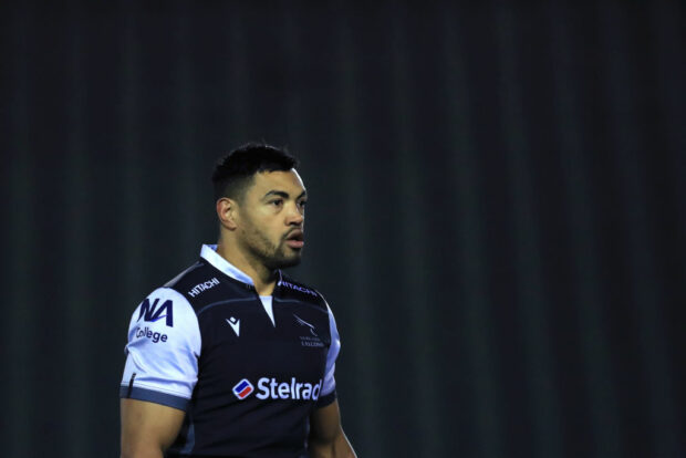 Newcastle Falcons centre Luther Burrell