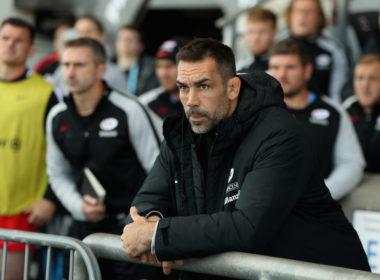Saracens coach Alex Sanderson