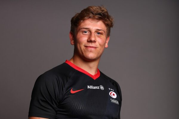 Young Guns: Saracens back row Ollie Stonham