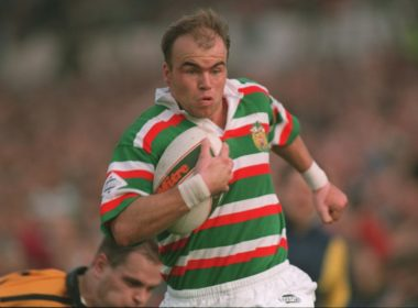 Leicester Tigers wing Steve Hackney