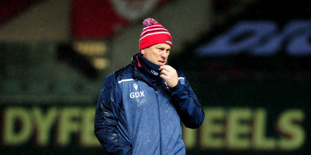 Scarlets head coach Glenn Delaney