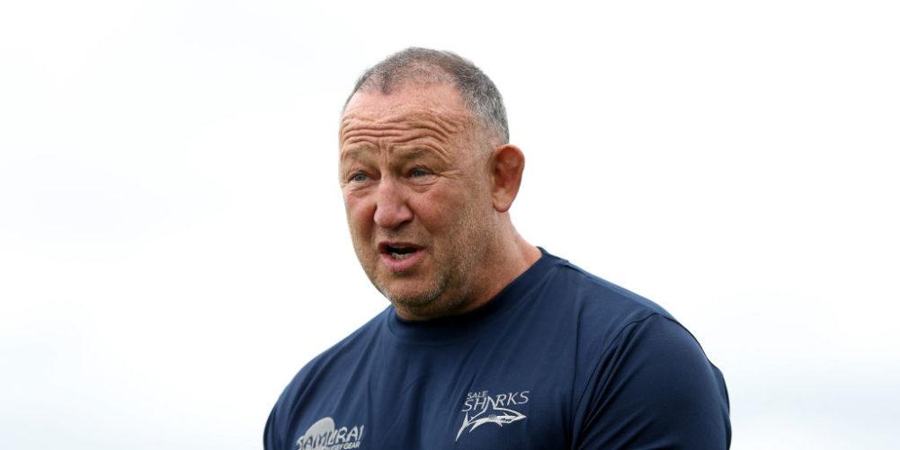 Sale Sharks director of rugby Steve Diamond