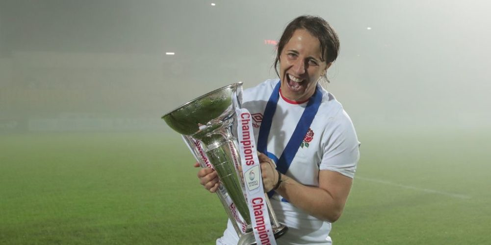 England fly-half Katy Daley-Mclean
