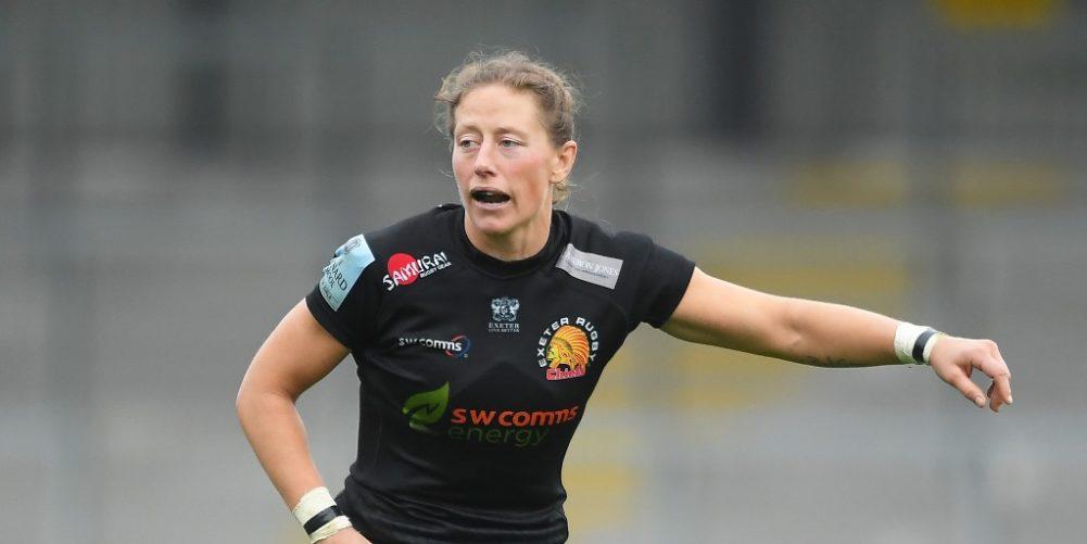 Exeter Chiefs Women back row Kate Zackary