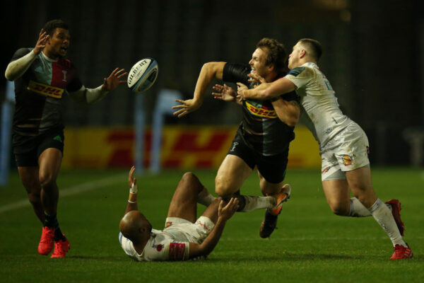 Harlequins centre Andre Esterhuizen sets sights on Lions tour