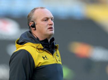 Wasps head coach Lee Blackett