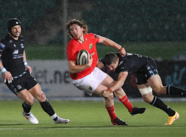 Munster fly-half Ben Healy